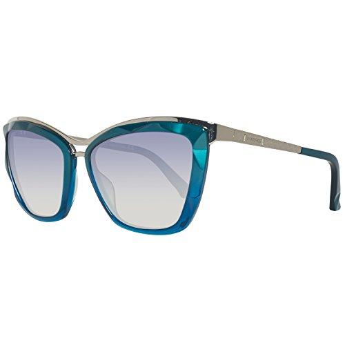 Swarovski SK0116-5687W Gafas de sol, Shiny Turquoise, 56 para Mujer