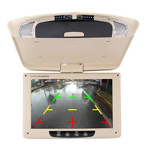 YANTAIAN Car Auto Roof 11 Pulgadas 800 * 480 Vista Trasera PAL/NTSC Monitor del Coche del Color Cámaras de Vigilancia Monitor, Soporte de Función de Pantalla Inversa Automática