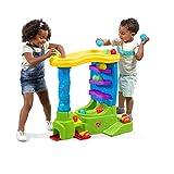STEP2 Spielcenter mit Bälle und Bahn, Kugelbahn mit Fahrzeuge, Bällebahn für Kinder mit Kunststoffbälle und Fahrzeuge
