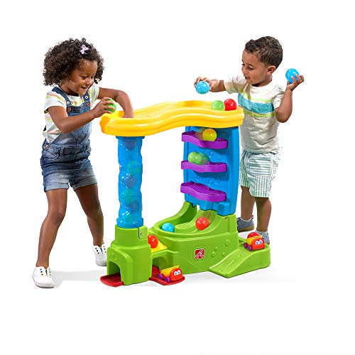 Step2 Ball Buddies Double Drop HQ   Large Ball Activity Toy for Toddlers   Play Balls Included
