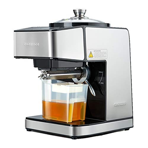 Happy2Buy Cibofresco DS-800 230W Cold Press Oil Machine   Fully Automatic   Moisture Removal Technology  One Year Warranty   Easy to use, Easy to Clean