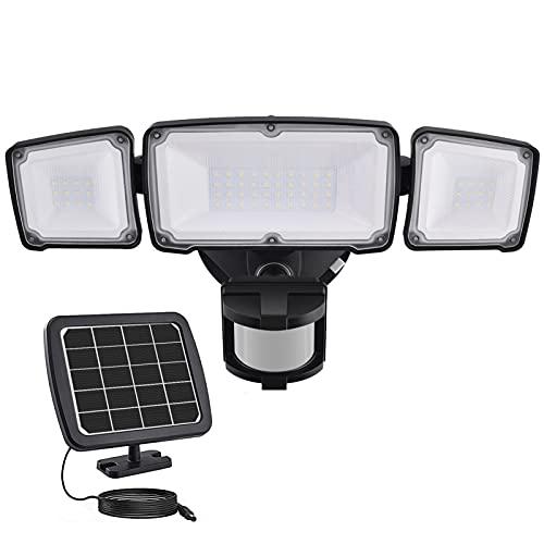 1600LM LED Solar Security Light Outdoor, Solar...