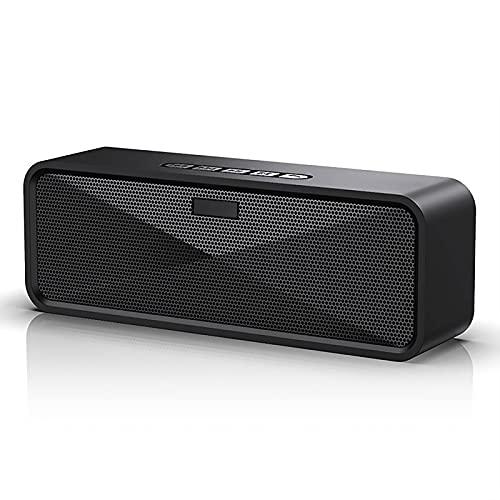 Altoparlante Bluetooth 5.0 Senza Fili Doppia Stereo Cassa Bluetooth Portatile per 10 Ore, Mini speaker Bluetooth con Aux Scheda TF per IPhone Android e Tablet PC