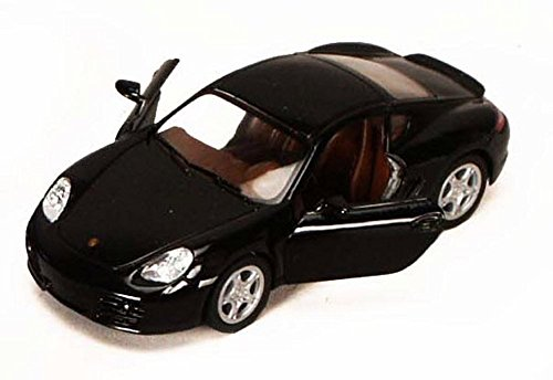 Kinsmart Porsche Cayman S, Black 5307D - 1/34 Scale Diecast Model Toy Car, but NO Box
