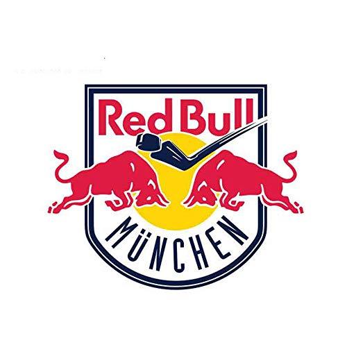 13 cm x 10,5 cm voor Red Of Bulls M Nchen sticker voor ramen bumper, auto, wrap, gepersonaliseerd autodecoratie