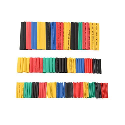 SISHUINIANHUA 164Pcs Set Polyolefin Schrumpf Verschiedene Schrumpfschlauch Draht-Kabel Isolierte Sleeving Schlauchhandwerkzeug-Set