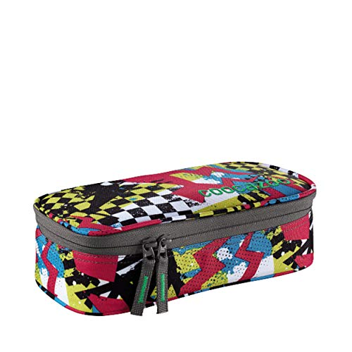 Coocazoo City and School PencilDenzel Schlamperetui 24 cm Checkered Bolts