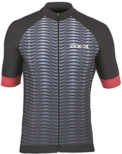 Camisa Ciclismo DX-3 Masculina Fast 02 Preto