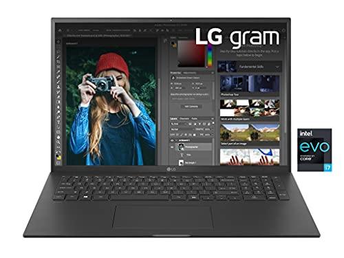 LG Gram 17Z90P, Display 17' Quad HD 16:10 IPS, 2560x1600, Intel Core i7-1165G7, RAM 16GB DDR4, SSD 512GB,...