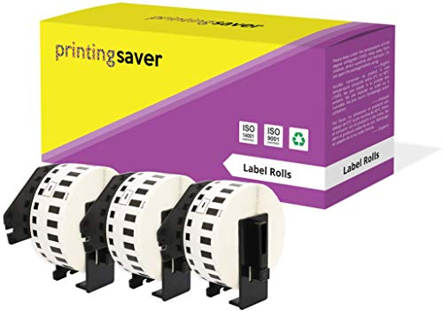 3 Rollen DK22214 DK-22214 12mm x 30,48m Endlos-Etiketten kompatibel für Brother P-Touch QL-500 QL-550 QL-560 QL-570 QL-580N QL-700 QL-720NW QL-800 QL-810W QL-820NWB QL-1050 QL-1060N QL-1100 QL-1110NWB