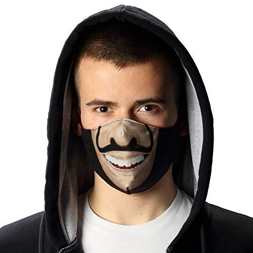INNOCENT® Mundschutz Maske | Haus des Geldes 2 | wiederverwendbar mit Motiv hochwertige Gesichtsmaske | Schutzmaske Waschbar, Staubschutzmaske