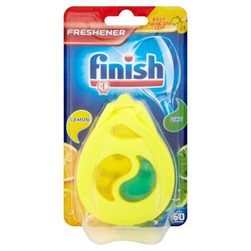 Finish - Ambientador para lavavajillas, Aroma a limón y Lima (3 Unidades)