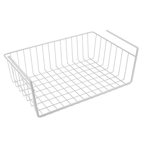 Metaltex Estante Organizador 30cm, Metal, Blanco, 40 cm