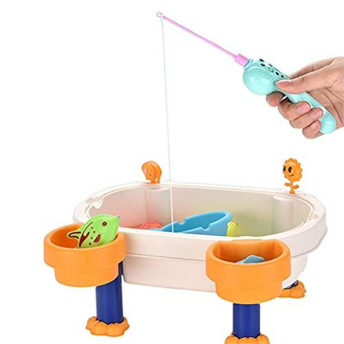 Nuryme Bandeja magnética para peces para niños con arena y agua