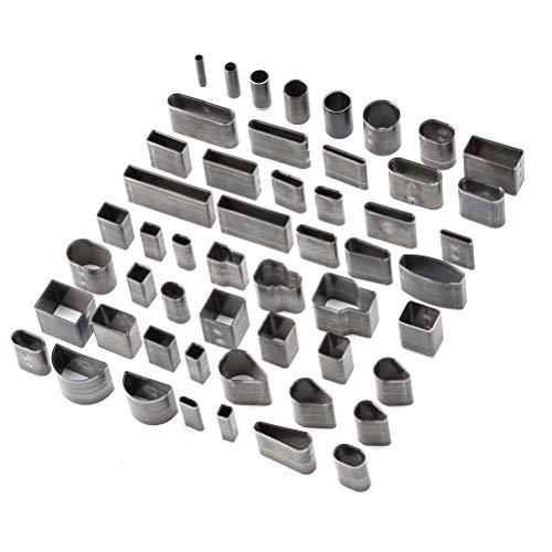 ATPWONZ Kit 52 pezzi punch in pelle professionale con coltello affilato per strumento fai da te fatto a mano