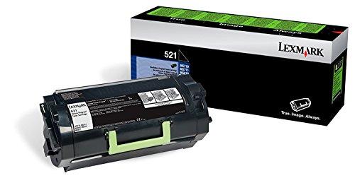 Lexmark 52D1000 Return Program Toner Cartridge 2-Pack for MS710, MS810, MS812