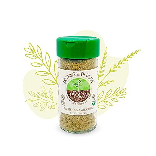 FLAVOR SEED - Organic Seasoning (Anything With Wings, Jars)