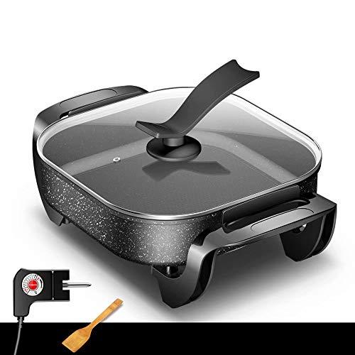 BBQ Hot Pot, Multifunktions-6L-Kapazität Mit Fünfgang-Temperaturregelung, Physikalische Antihaft-Elektro-Pfanne, Hot Pot1400W (A)
