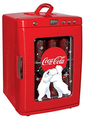 Coca-Cola KWC25 28 Dosen AC/DC Kühler mit LED-Display von Koolatron (26 Quart/25 Liter)
