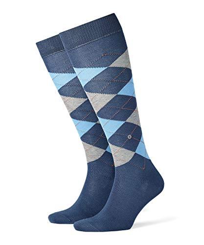 Burlington Manchester M KH Chaussettes Montantes, Bleu (Blueb.Peel 6220), 40-46 (UK 6.5-11 Ι US 7.5-12) Homme