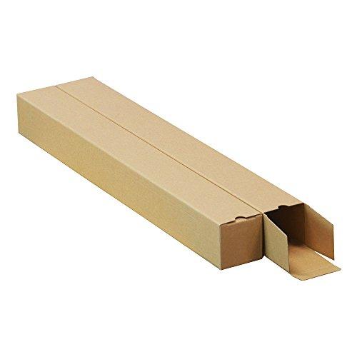 ボックスバンク 紙管 紙筒 ポスター カレンダー 収納 ダンボール箱 B2用(6cm幅)100枚セット MA02-0100