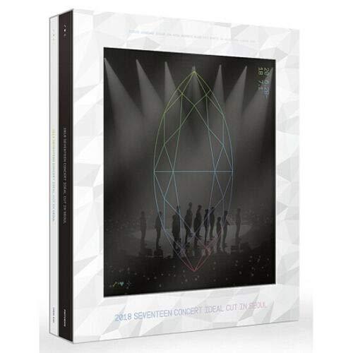 2018 SEVENTEEN CONCERT IDEAL CUT IN SEOUL DVD 3CD+PBook+Poster+Card+Sticker+K-POP SEALED+TRACKING NUMBER