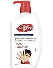 Lifebuoy Anti Bacterial Hand Wash Total 10, 500ML