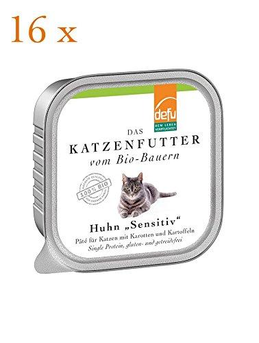 defu Katze Huhn Sensitive Pâté
