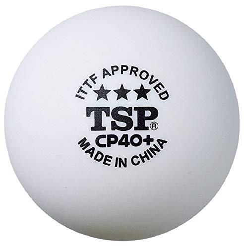 TSP ティーエスピー TSP 卓球 ボール CP40+ 3スターボール 3個入り 014049