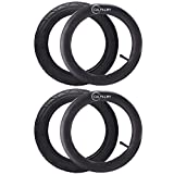 """CALPALMY (2 Sets) 18"""" x 1.95/2.125 Kids Bike Replacement Tires and Tubes - Compatible with Most..."""