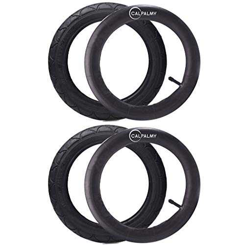 2 Set - 12.5'' Replacement Tire and Tube for Most 12'' Kid Bikes Like RoyalBaby, Schwinn, Dynacraft Magna and Titan - Made from BPA/Latex Free Premium Quality Butyl Rubber