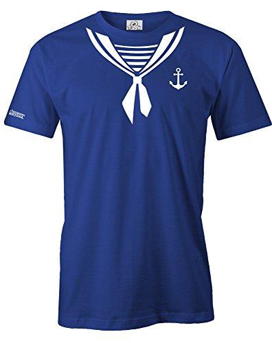 Jayess MATROSE - KOSTÜM - Herren - T-Shirt in Royalblau by Gr. XL