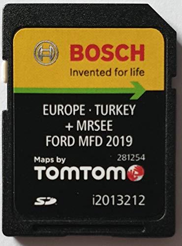 SD Karte GPS Ford MFD Europe 2019