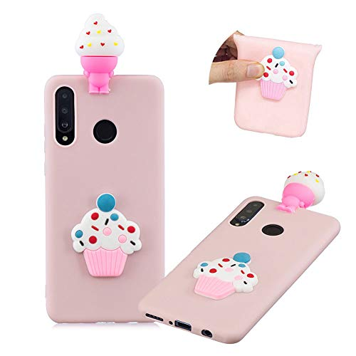 Big Save! 3D Cute Cartoon Cover for Huawei P30 Lite,MOIKY Candy Colour Slim Soft Silicone TPU Bumper...