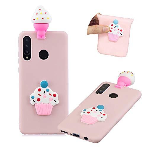 Big Save! 3D Cute Cartoon Cover for Huawei P30 Lite,MOIKY Candy Colour Slim Soft Silicone TPU Bumper...