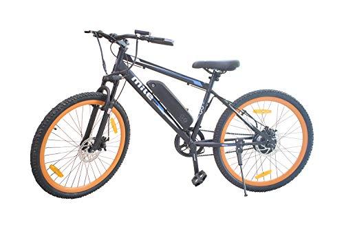 GoZero Mile | Electric Bicycle India | Pedal Assist | Throttle | 36V Lithium-Ion Battery | 250W Hub Motor | Light Weight | Long Range | LED Display | E-Brakes | E-Bike | Electric Bike