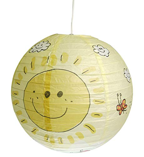 Niermann Standby Papier Pendel Ballon, Sunny, 40 cm 154
