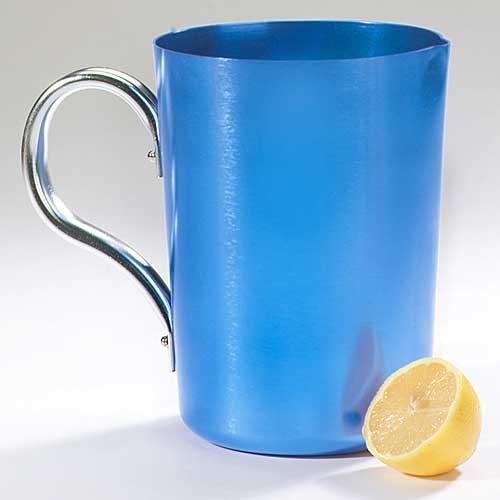 small aluminum pitcher - 1