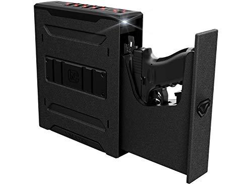 Vaultek Slider Series Rugged Bluetooth Smart Handgun Safe Quick Open Pistol Safe with Rechargeable Li-ion Battery (Biometric (Colion Noir Edition))