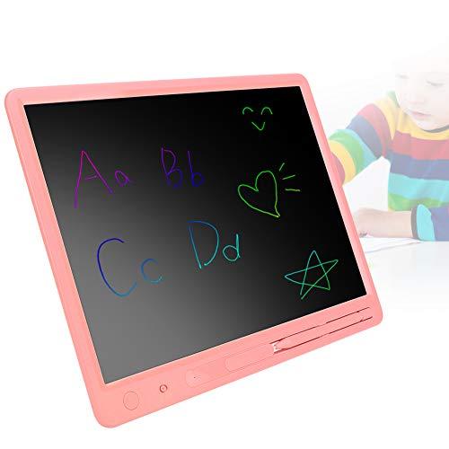 ROMACK Tableta de Escritura LCD de Tableta de Escritura de energía Ligera sin daños, para niños(Pink)