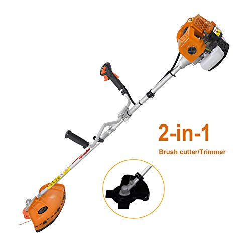 %29 OFF! SALEM MASTER 51.7CC Weed Eater Gas Powered String Trimmer Straight Shaft 2 Cycle Gasoline P...