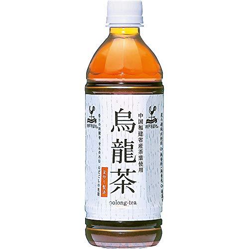 富永貿易 神戸居留地 烏龍茶 500mL×4本入 [0805]