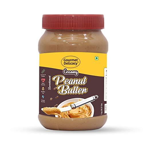 Gourmet Delicacy Creamy Peanut Butter (Gultenn Free Vegan) 1 Kg