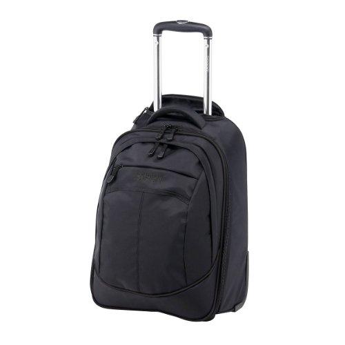 ESPRIT Trolley Rucksack SuperLight, black-black, 57x36x26, 11137