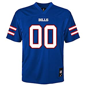 NFL Kids & Youth Team Color Fashion Jersey, Buffalo Bills, Kids Large(7)