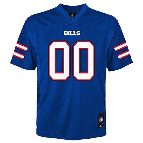 NFL Kids & Youth Team Color Fashion Jersey, Buffalo Bills, Kids Medium(5-6)