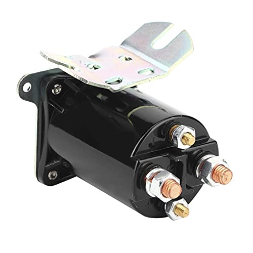 ZHIXIANG Solenoide Starter Switch Relé 4 Aleación Terminal SBJ6255 12V 200A Accesorios Automovil Auto Accesorio
