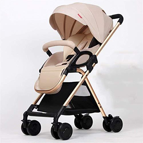 Amazing Deal PLDDY Standard Baby Four Wheels Trolley Awning Bike Baby Trolley Newborn Baby Carriage ...