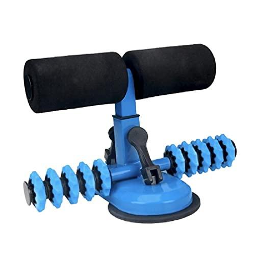 QuQiaoUK - Ejercitador de barra ajustable para sentarse con rodillo de masaje