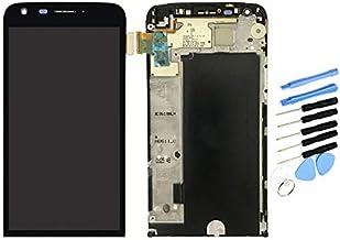 YQZ para LG G5 H850 H820 H830 H831 LS992 Digitalizador de Pantalla táctil LCD Pantalla Completa con Marco Biselado (Negro)